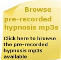 pre recorded hypnotherapy mp3s